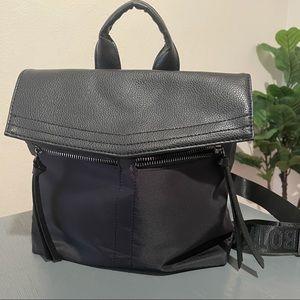 Botkier Black Nylon Trigger Backpack